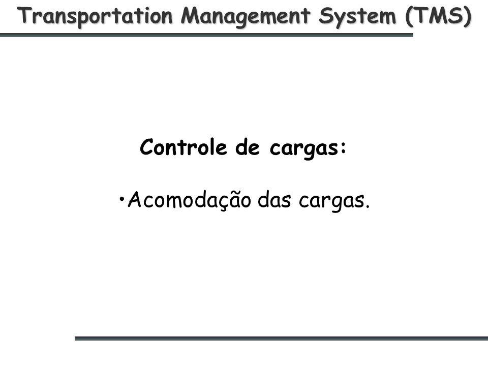 Transportation Management System (TMS) Controle de cargas: Acomodação das cargas.