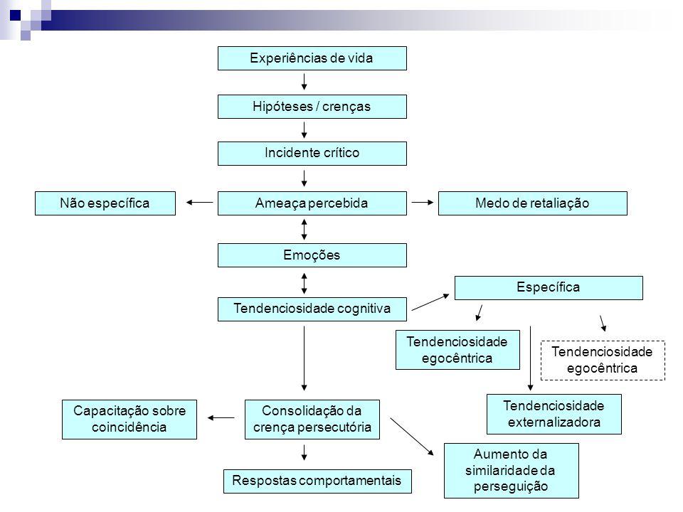 Características das Alucinações Auditivas Comentários, criticas, ordens, ruminações, preocupações e perguntas nas falas do paciente.