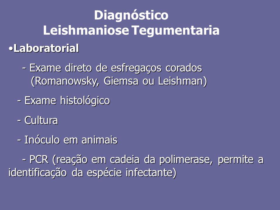 LaboratorialLaboratorial - Exame direto de esfregaços corados (Romanowsky, Giemsa ou Leishman) - Exame direto de esfregaços corados (Romanowsky, Giems
