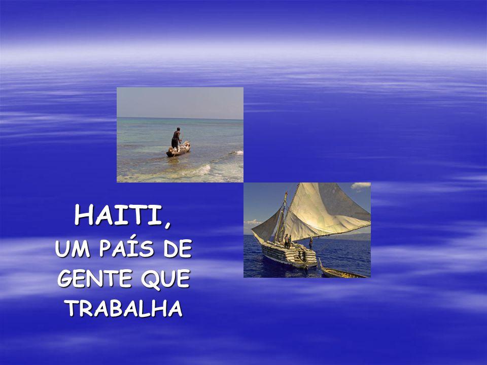 HAITI, UM PAÍS DE GENTE QUE TRABALHA