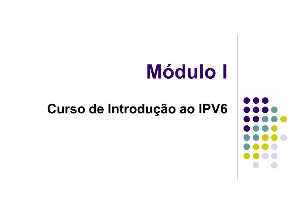 Módulo I Curso de Introdução ao IPV6