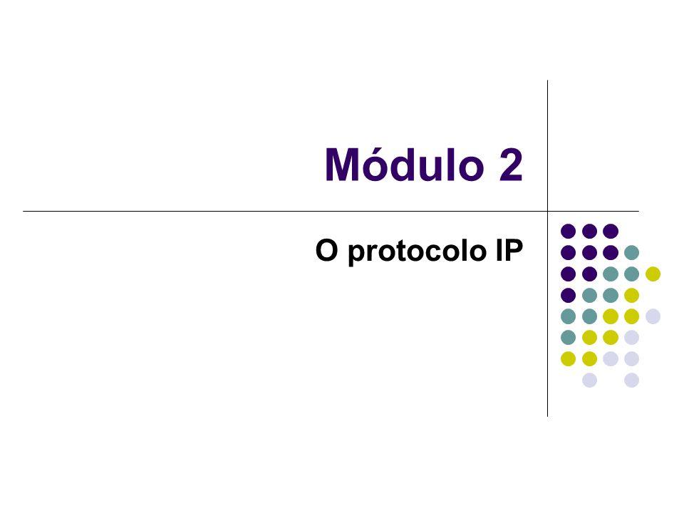 Módulo 2 O protocolo IP