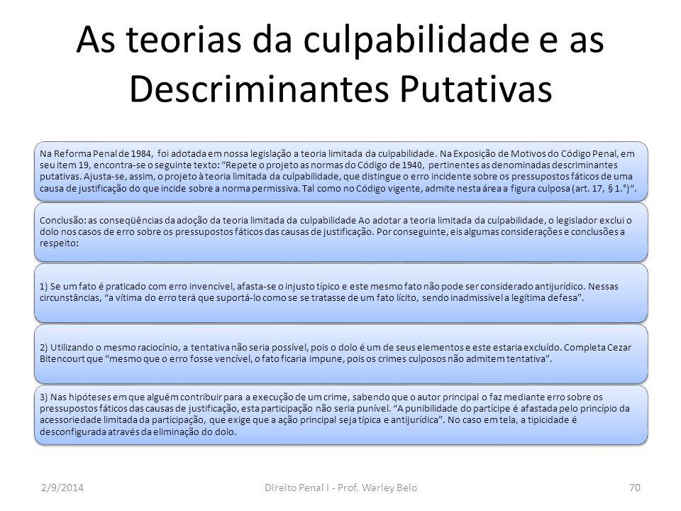 Culpabilidade Elementos e excludentes Imputabilidade Menoridade penal (art.
