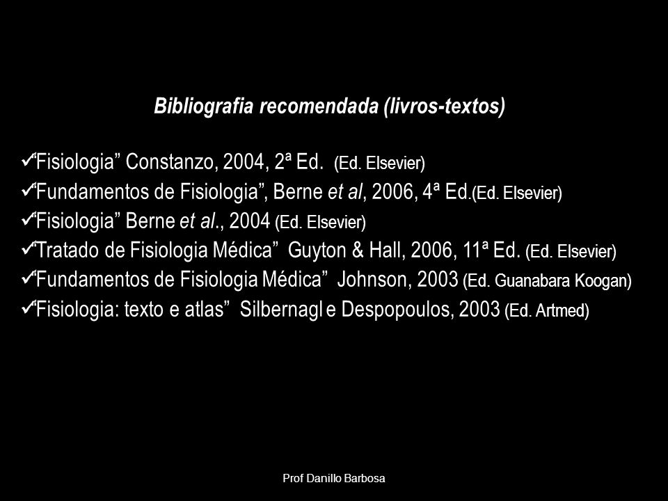 Fisiologia HumanaProf.Ms.Danillo Barbosa VEJA TEXTOS COM ANIMAÇÕES ONLINE Section 4 - Respiratory Physiology Section 4 Ch 1 pg 16 Alveolarization and Alveolar Surface Area Section 4 Ch 1 pg 18 Measurement of Lung and Ventilation Volumes Section 4 Ch 1 pg 22 Circulatory Transport of O2 and CO2Alveolarization and Alveolar Surface AreaMeasurement of Lung and Ventilation VolumesCirculatory Transport of O2 and CO2 Section 4 Ch 2 pg 4 Respiratory Mechanics: Identification of Forces Section 4 Ch 2 pg 11 The Diaphragm Section 4 Ch 2 pg 12 External Intercostal Muscles Section 4 Ch 2 pg 15 Expiratory Muscle Groups Section 4 Ch 2 pg 21 The Opposing Force of Pulmonary Elastance or Compliance Section 4 Ch 2 pg 23 Lung Compliance Curve Section 4 Ch 2 pg 24 Chest Cage Compliance Curve Section 4 Ch 2 pg 25 Combined Lung-Chest Wall Compliance: The Relaxation Curve Section 4 Ch 2 pg 31 Elastic and Collagen Fibers of the Lung Section 4 Ch 2 pg 35 Alveolar Instability with Constant Surface Tension Section 4 Ch 2 pg 37 Surface Tension in Lung Lavage Fluids Section 4 Ch 2 pg 40 asid Interdependence Section 4 Ch 2 pg 54 Physical Factors that Affect Airway Resistance Section 4 Ch 2 pg 54 Physical Factors that Affect Airway Resistance: enlargement of the airway lumenRespiratory Mechanics: Identification of ForcesThe DiaphragmExternal Intercostal MusclesExpiratory Muscle GroupsThe Opposing Force of Pulmonary Elastance or ComplianceLung Compliance CurveChest Cage Compliance CurveCombined Lung-Chest Wall Compliance: The Relaxation CurveElastic and Collagen Fibers of the LungAlveolar Instability with Constant Surface TensionSurface Tension in Lung Lavage FluidsInterdependencePhysical Factors that Affect Airway ResistancePhysical Factors that Affect Airway Resistance: enlargement of the airway lumen Section 4 Ch 3 pg 21 Alveolar VentilationAlveolar Ventilation Section 4 Ch 4 pg 7 Pulmonary Circulation as a Blood Filter Section 4 Ch 4 pg 8 Reservoir of Blood for Left Ventricle Section 4 Ch 4 pg 1
