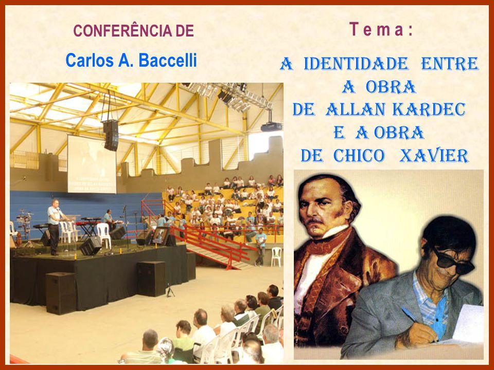O II Encontro Nacional dos Amigos de Chico Xavier e sua Obra foi aberto com a participação alegre da Banda Bênção de Paz, de São Paulo,que muitas vezes entreteceu Chico Xavier em Uberaba.