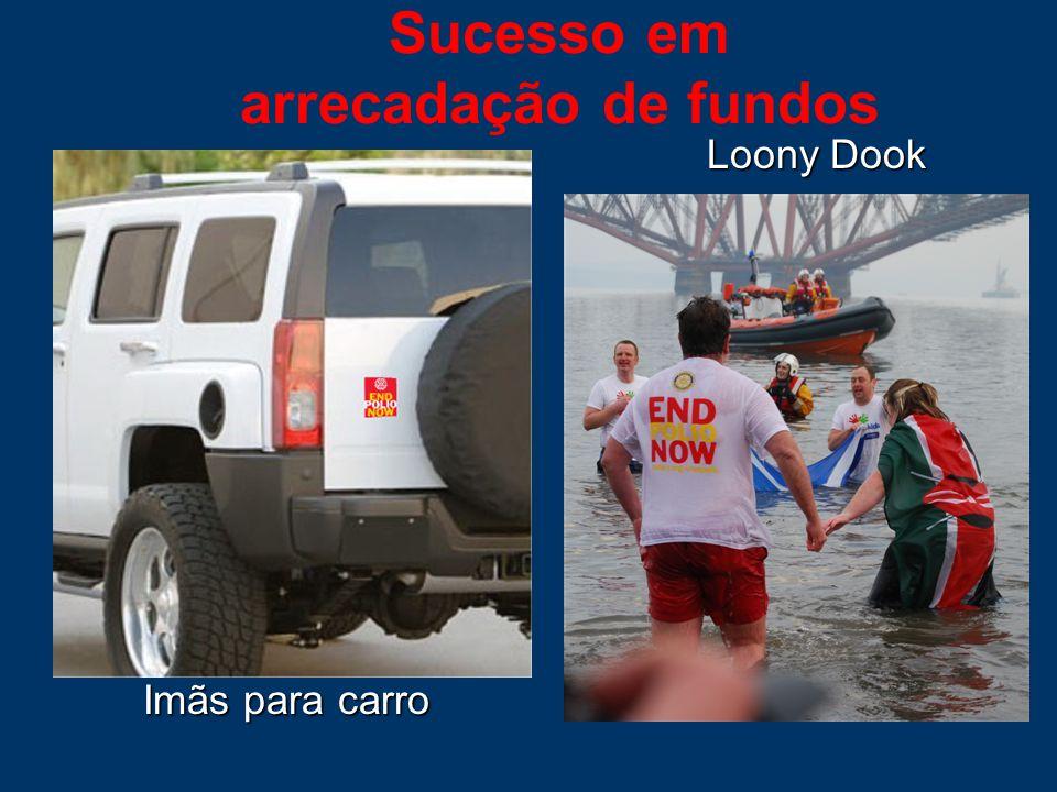 Sucesso em arrecadação de fundos Imãs para carro Loony Dook