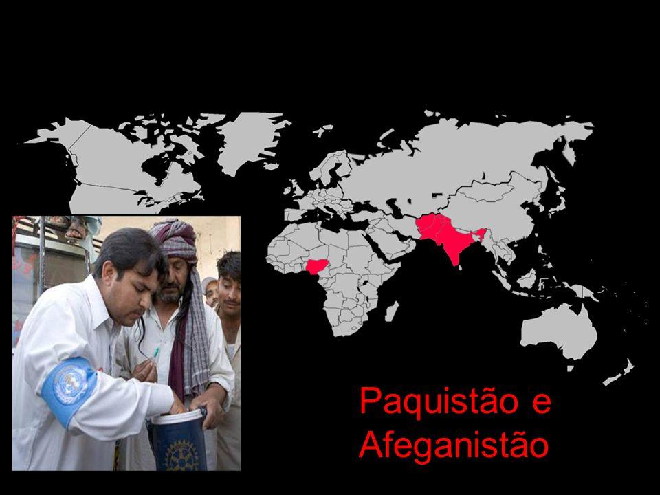 A erradicação da pólio é a mais alta prioridade da OMS Dra.