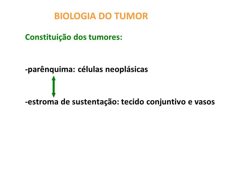 BIOLOGIA DO TUMOR PROGRESSÃO DA DISPLASIA: