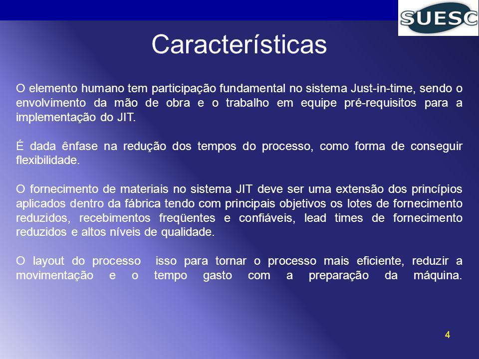 5 Objetivos O sistema JIT tem como objetivo fundamental à melhoria contínua do processo produtivo.