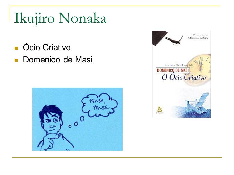 Ikujiro Nonaka Ócio Criativo Domenico de Masi