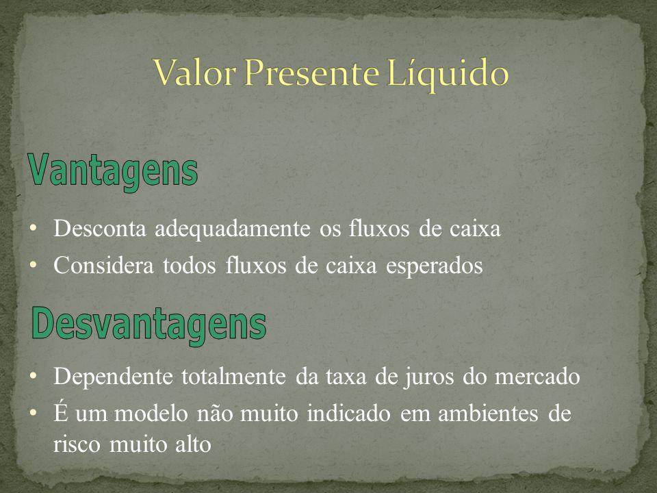 O valor presente líquido é uma técnica sofisticada de análise de orçamento de capital, obtida...