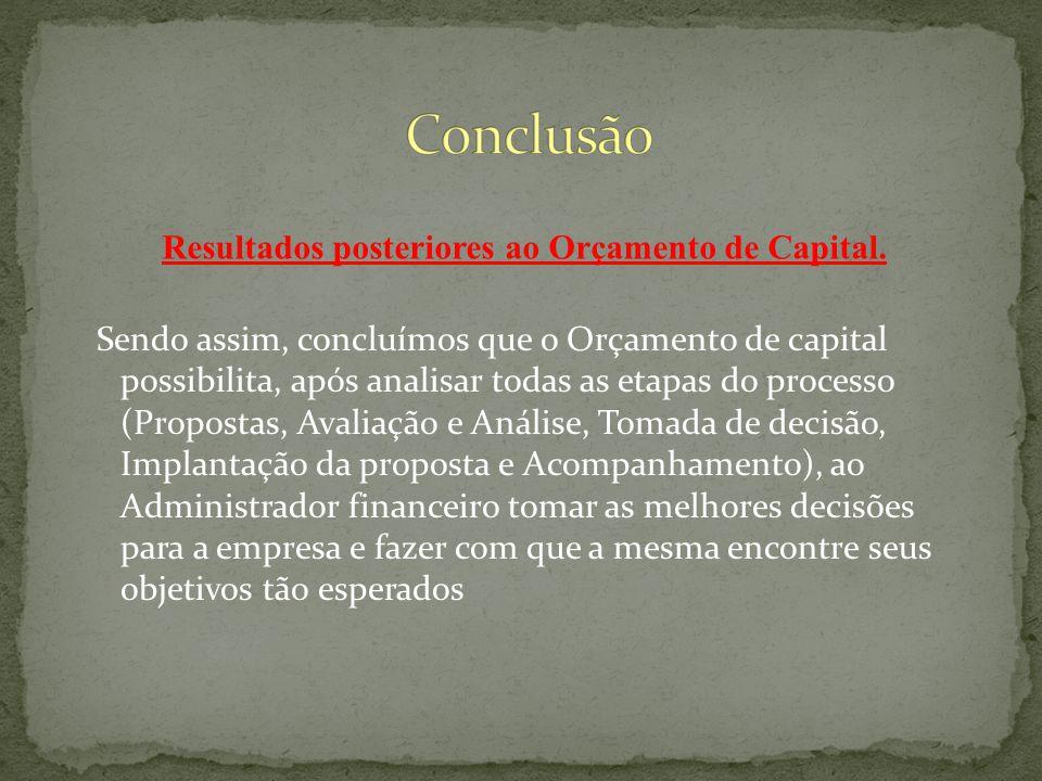 O Reinvestimento é feito ao custo do capital Melhor indicação da rentabilidade relativa Não é um bom indicador para investimentos não convencionais Não leva em conta o rentabilidade absoluta do projeto