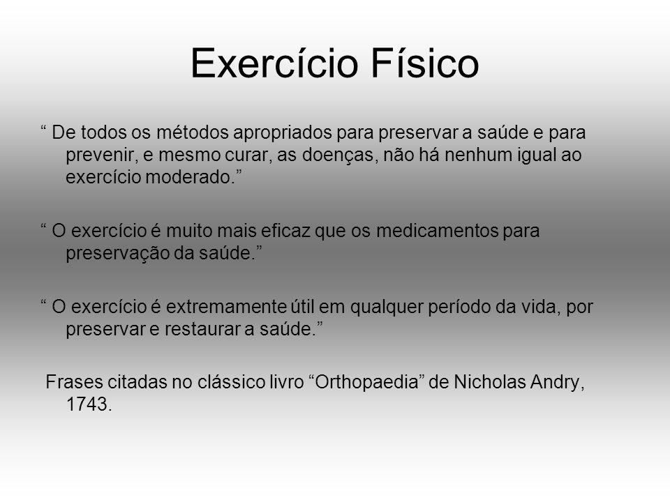 Conceitos Atividade física: qualquer movimento corpóreo produzido pelos músculos esqueléticos que exigem um gasto de energia.