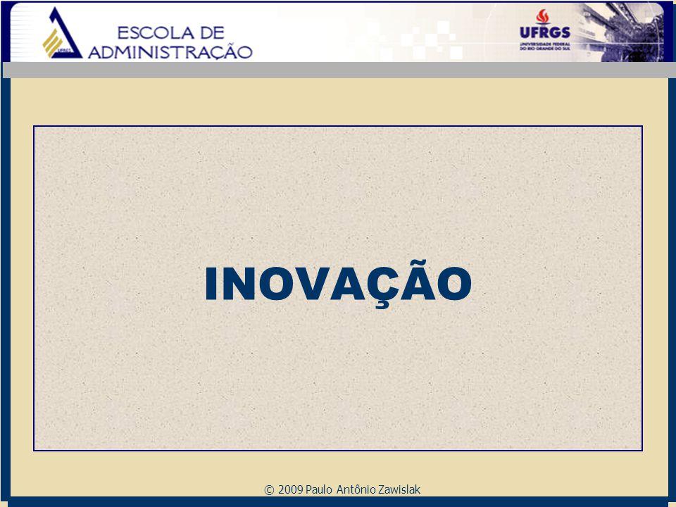 © 2009 Paulo Antônio Zawislak INOVAÇÃO