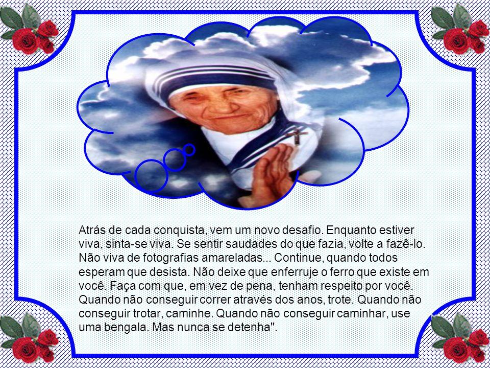Madre Teresa, dentre tantas vocações, tinha também um notável dom para a escrita. Cada uma destas é fruto de sua vida do Evangelho Vivo e Vivido. Cada