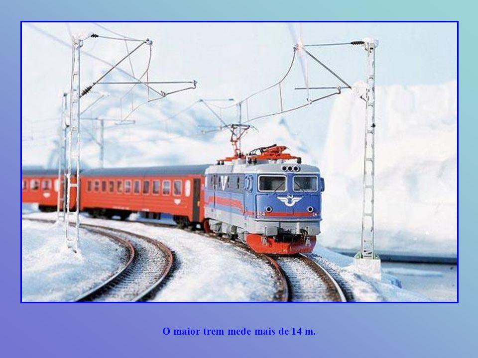 Ao final, estará composta de 700 trens com mais de 10.000 locomotivas e vagões.