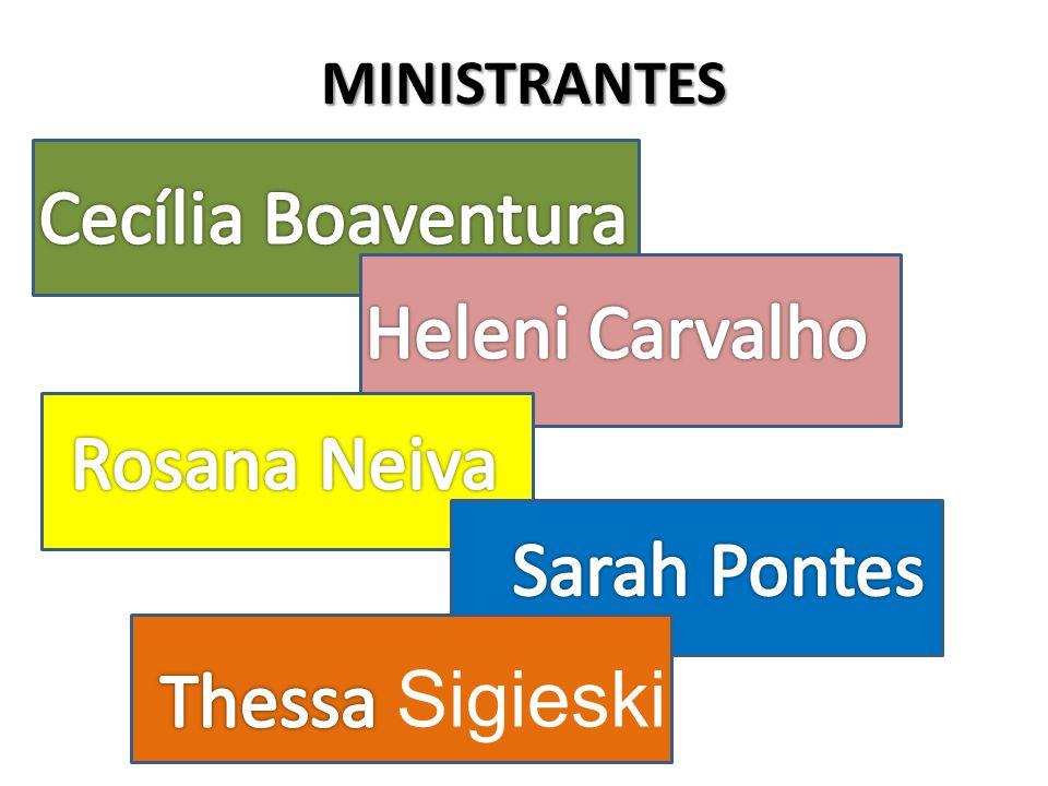 MINISTRANTES