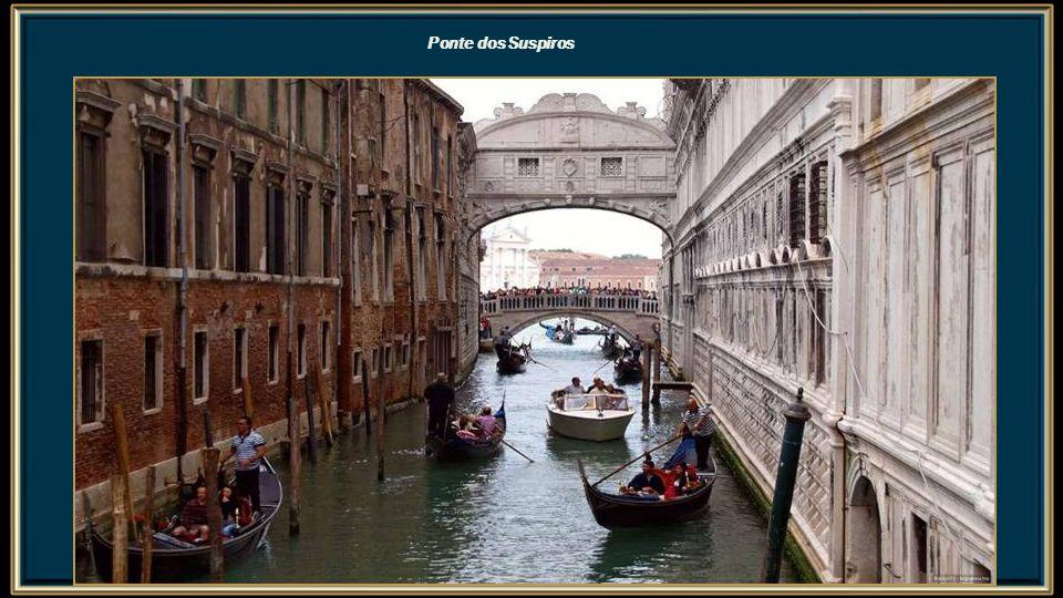 Vista de Veneza a partir do Campanário de São Marcos Grande Canal