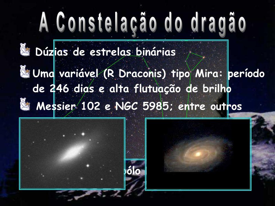 Visível desde o pólo Norte até 10º Sul  Cep: as Cefeidas Duas variáveis tipo Mira Destaque para IC 1396, nebulosa difusa na Via-Láctea