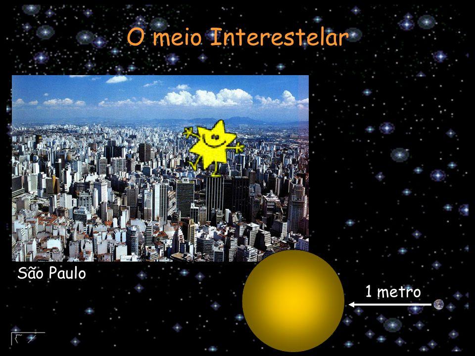 1 metro São Paulo O meio Interestelar