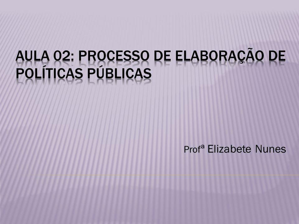Prof ª Elizabete Nunes