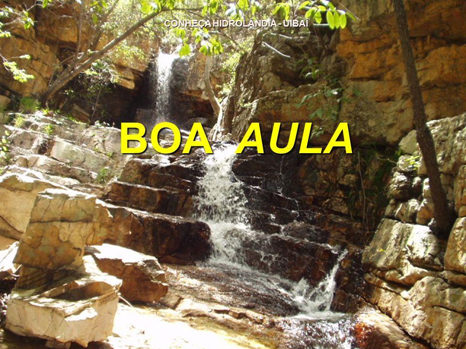 CONHEÇA HIDROLÂNDIA - UIBAÍ CONHEÇA HIDROLÂNDIA - UIBAÍ BOA AULA