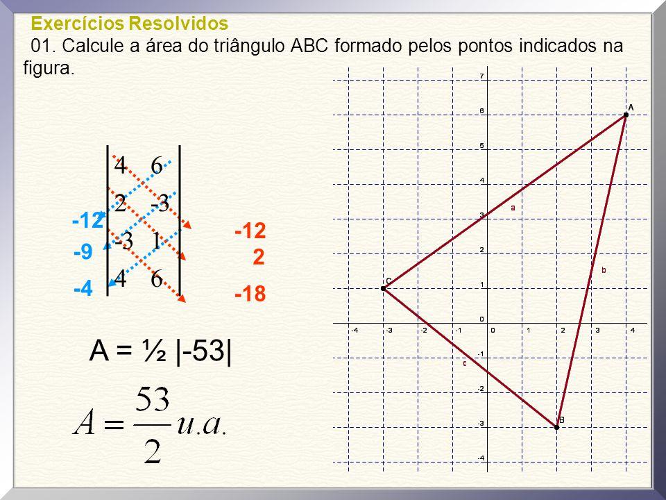 Questão 05 As coordenadas do ponto médio do segmento de extremidades (1, –2 ) e ( –1 – 4 ) são: a) ( 3, 1 ) b) ( 1, 3 ) c) ( –2, –3 ) d) ( 0, –3 ) e) ( 3, 3 )