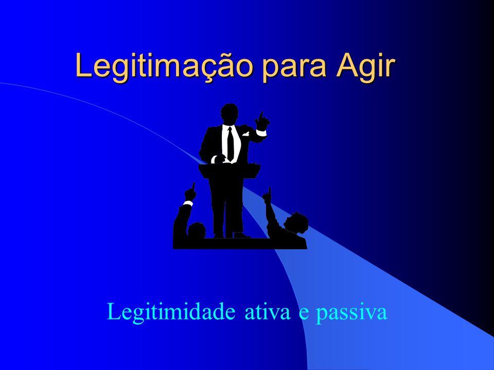 Condições da Ação Popular Interesse de agir - caracterizado pela necessidade, utilidade e adequação da ação.