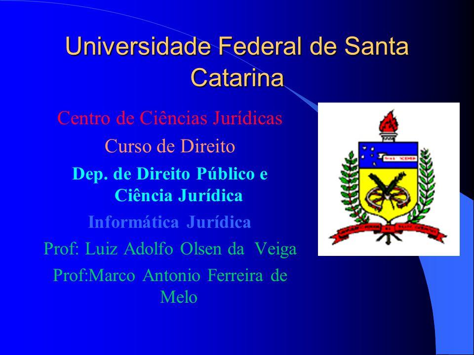 AÇÃO POPULAR INFORMÁTICA JURÍDICA FLORIANÓPOLIS, 28 DE NOVEMBRO DE 1996.