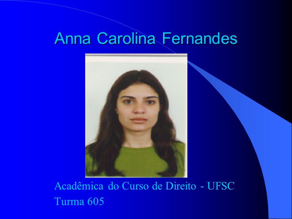 Universidade Federal de Santa Catarina Centro de Ciências Jurídicas Curso de Direito Dep.