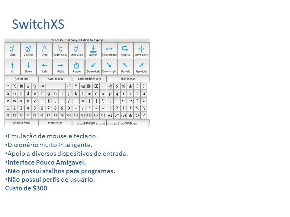 The grid 2 Emulação de teclado e mouse.Dicionário inteligente.