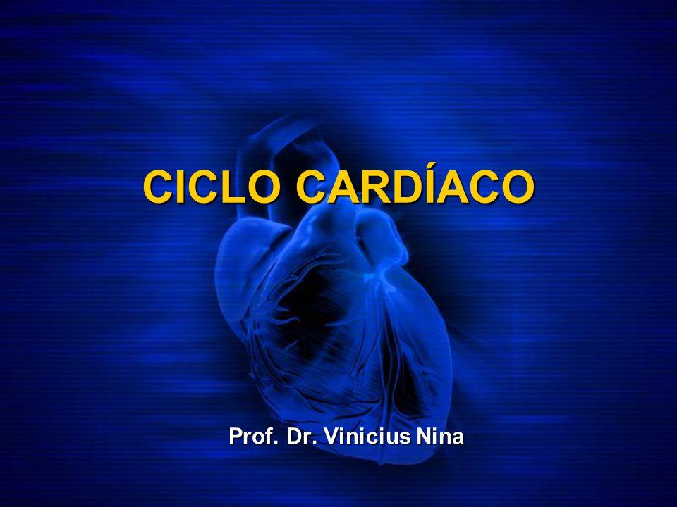 CICLO CARDÍACO Prof. Dr. Vinicius Nina