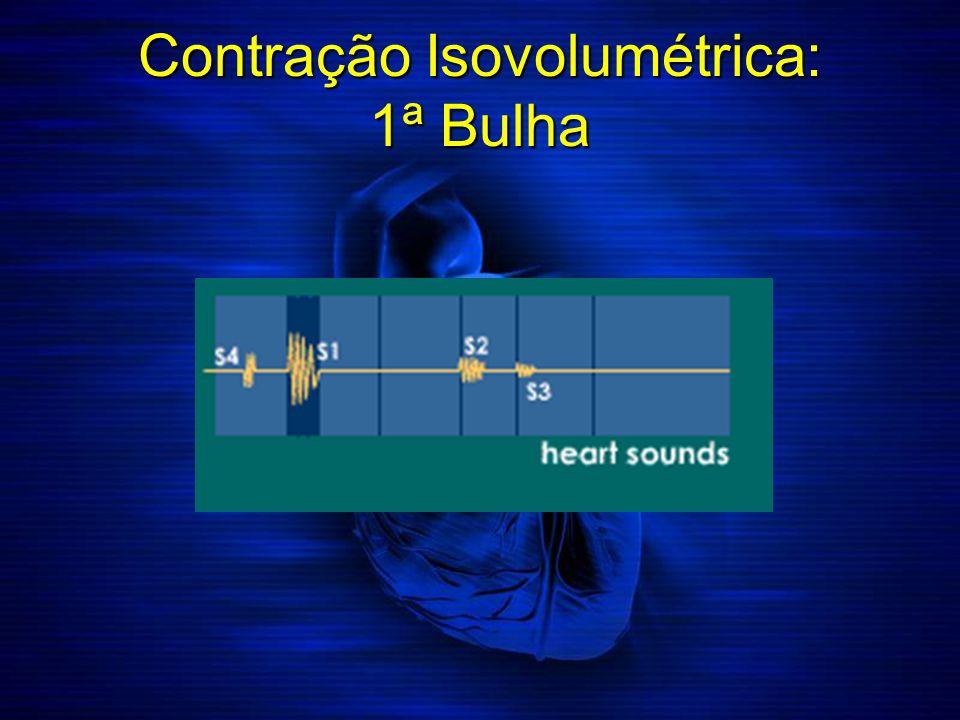 Contração Isovolumétrica: 1ª Bulha