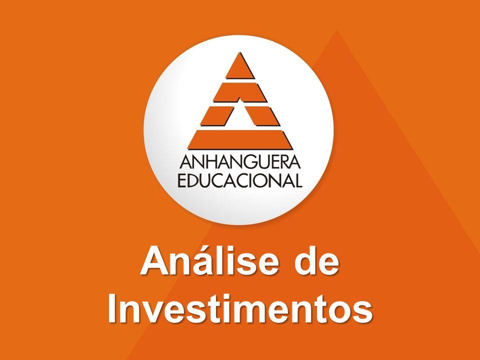 Professor: Marco Machado 1º Semestre – 2011 Aula 06 - A técnica de análise: Valor Presente Líquido (VPL)