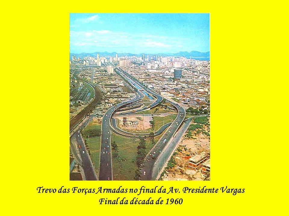 Vista Panorâmica da Av. Presidente Vargas - 1951
