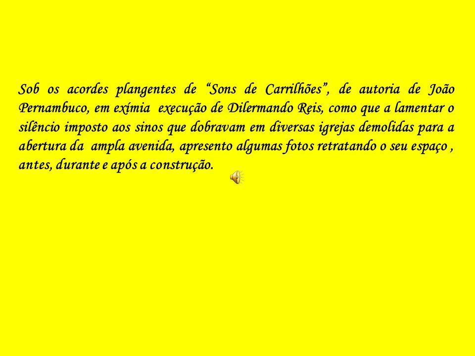 Vista Panorâmica Atual da Av. Presidente Vargas Com Destaque Para a Praça Duque de Caxias.