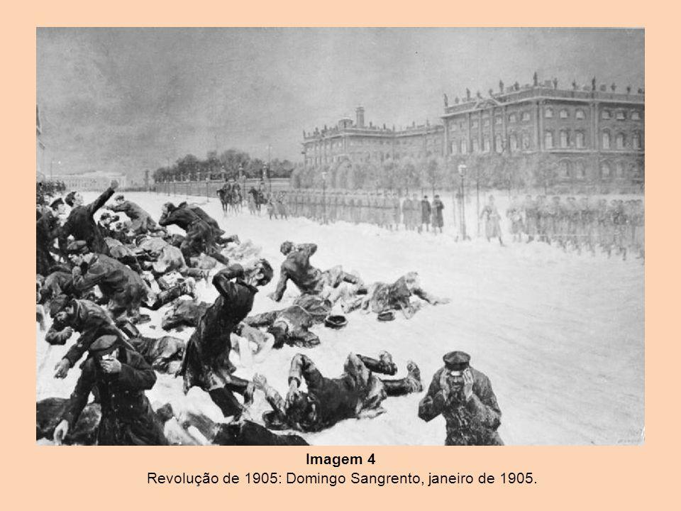 Imagem 4 Revolução de 1905: Domingo Sangrento, janeiro de 1905.