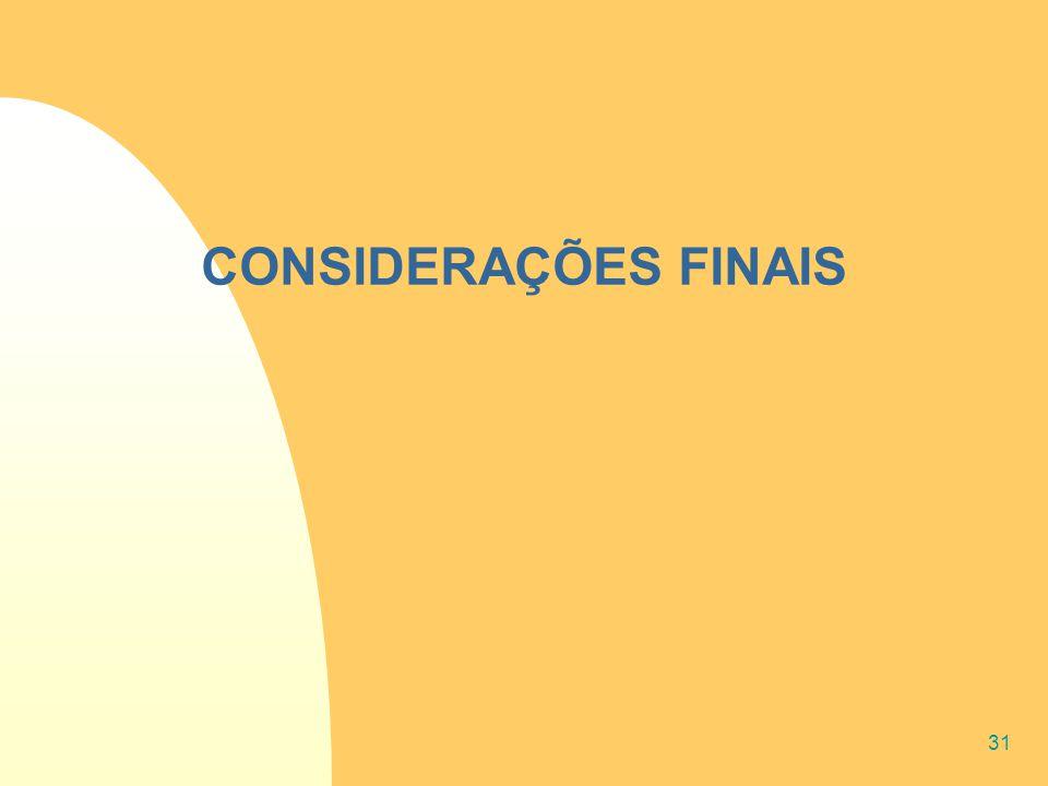 31 CONSIDERAÇÕES FINAIS