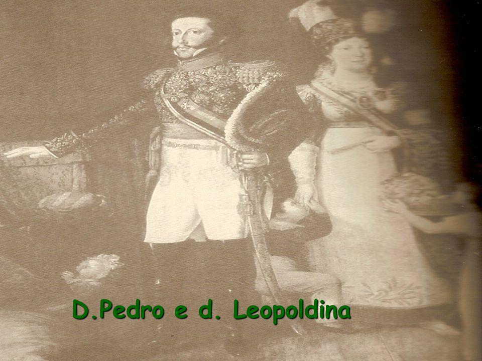 Imperatriz Leopoldina e os filhos