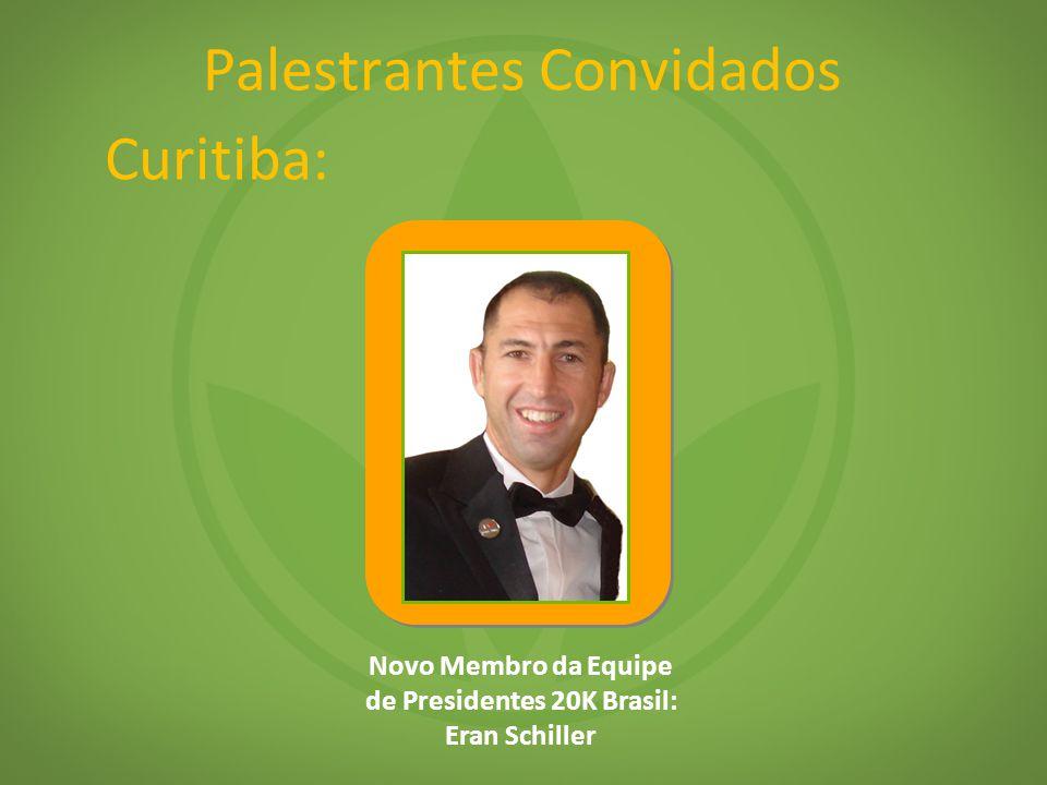 Palestrantes Convidados Novo Membro da Equipe de Presidentes 20K Brasil: Eran Schiller Curitiba: