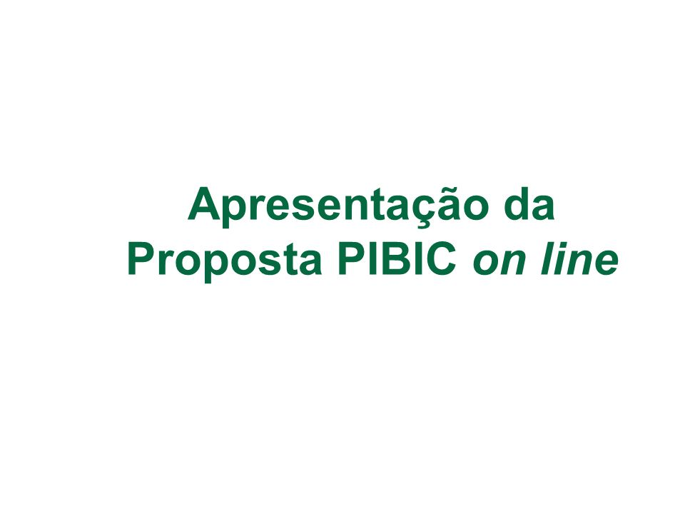 O status da proposta no orientador do aluno após encaminhada ao departamento também é Encaminhado ao departamento