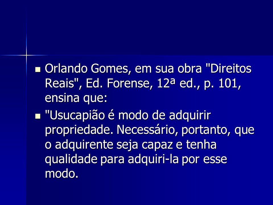 Orlando Gomes, em sua obra