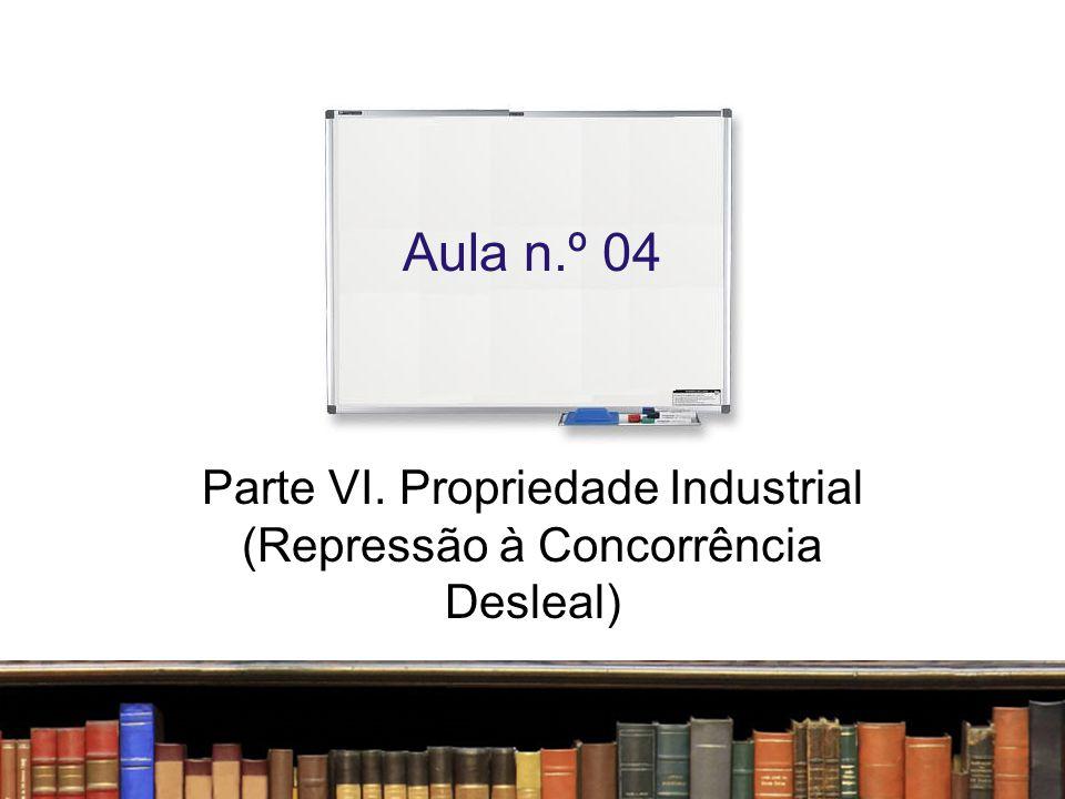 Concorrência Desleal Todo ato de concorrência contrário aos usos honestos em matéria industrial ou comercial Artigo 195 da LPI