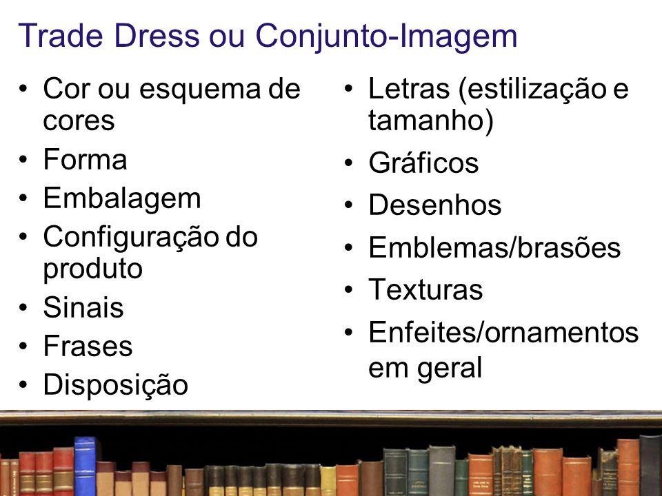 Trade Dress ou Conjunto-Imagem Como diferenciar um conjunto-imagem da chamada linguagem da categoria .
