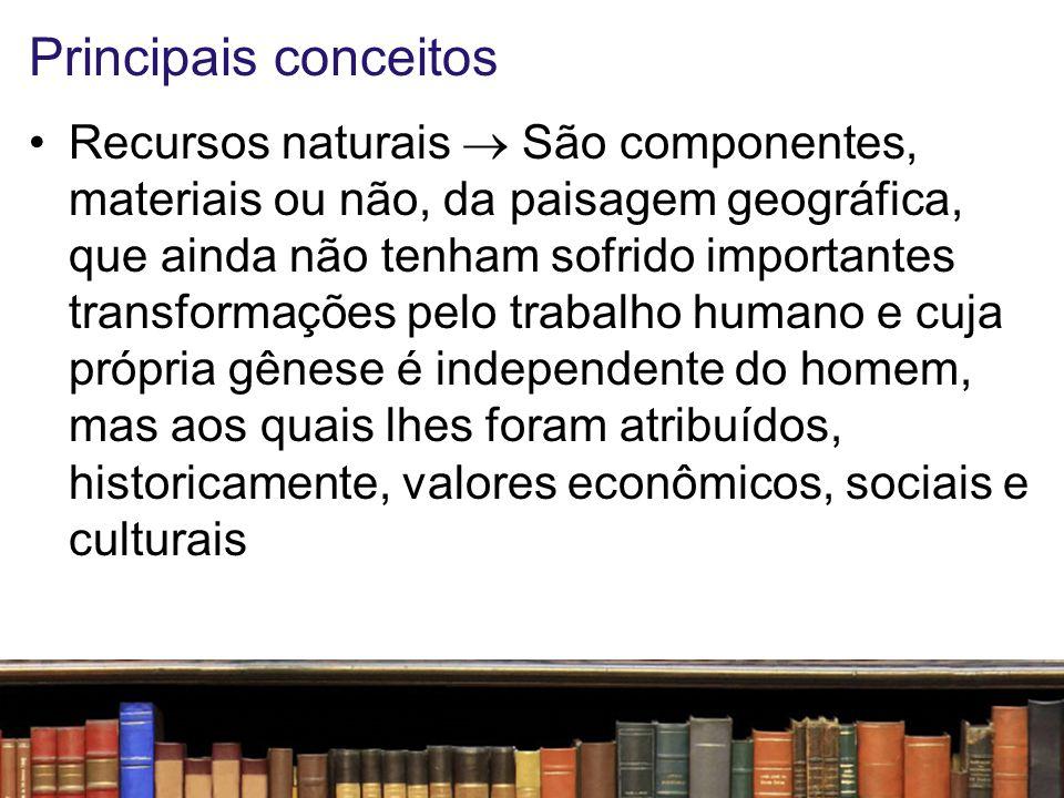 Principais conceitos Patrimônio cultural  Conjunto de todos os bens, materiais ou imateriais, que, pelo seu valor próprio, devam ser considerados de interesse relevante para a permanência e a identidade da cultura de um povo