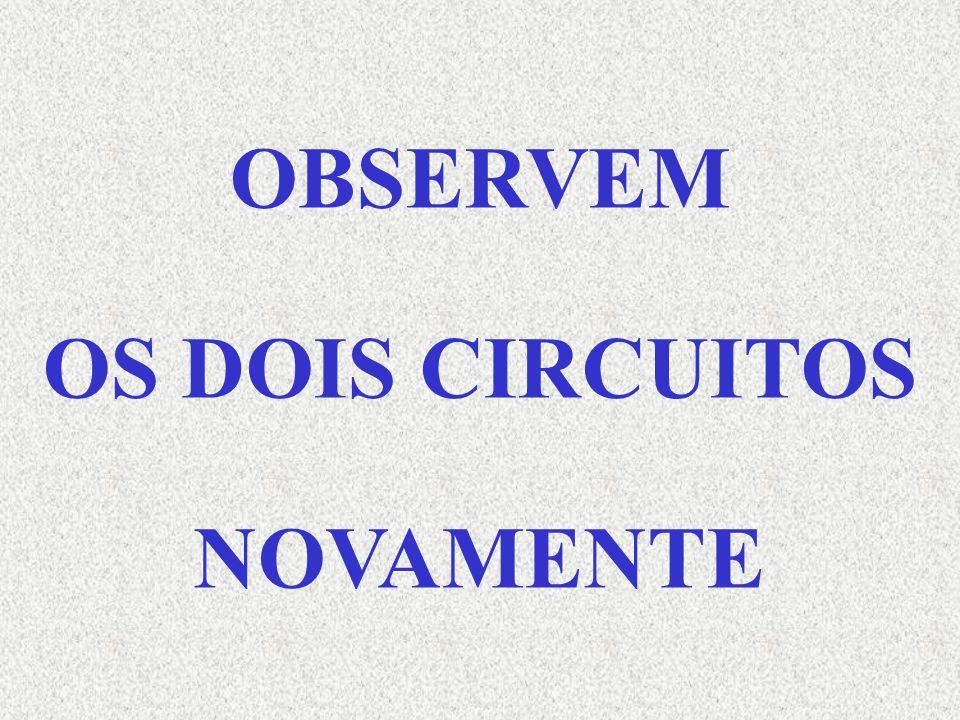 OBSERVEM OS DOIS CIRCUITOS NOVAMENTE