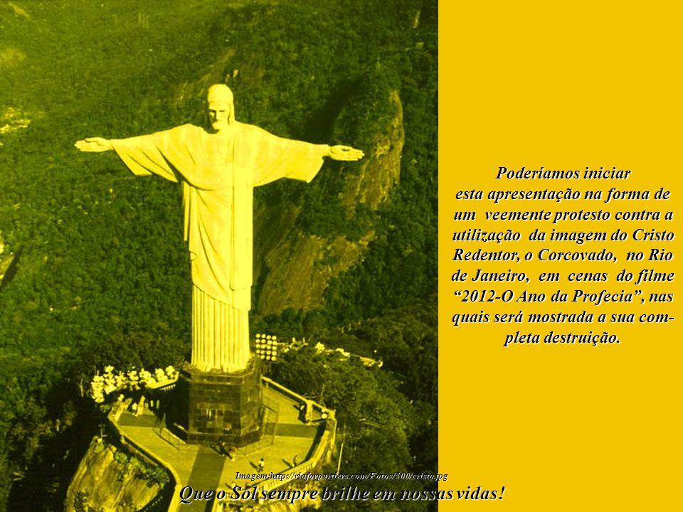 Imagem:http://rioforpartiers.com/Fotos/500/cristo.jpg O Cristo Redentor foi eleito em 2007 como foi eleito em 2007 como uma das 7 Maravilhas do mundo.
