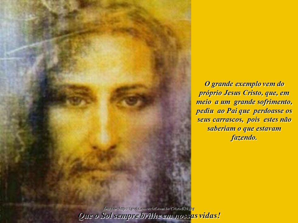 Concedamos, no âmago de nossos corações, perdão por aquilo que foi cometido contra o Mundo Espiritual. Que o Sol sempre brilhe em nossas vidas! Imagem