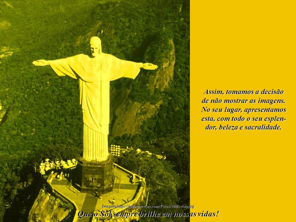 Imagem:http://rioforpartiers.com/Fotos/500/cristo.jpg Que o Sol sempre brilhe em nossas vidas! Enfocados no Amor, no Perdão, na Oração e na Vida, reun