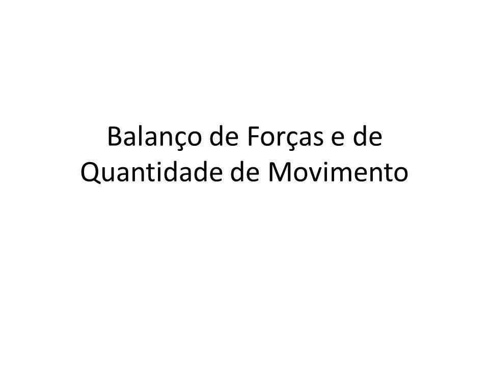 Balanço integral The rate of change in the Control Volume is equal to the rate of change in the fluid (total derivative) plus what flows in minus what flows out.